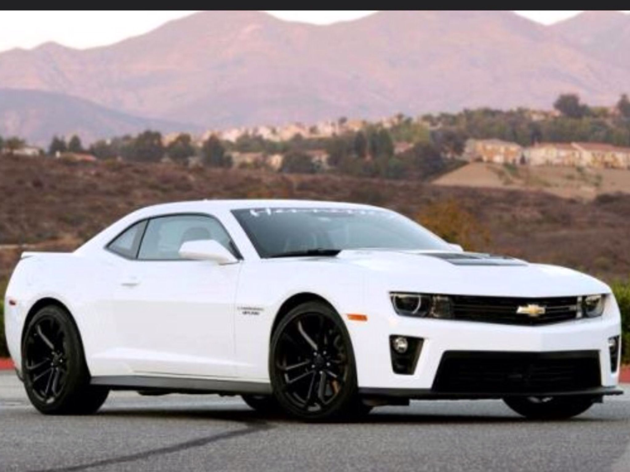 2013 Chevrolet Camaro Zl1 Summit White Dream Garage