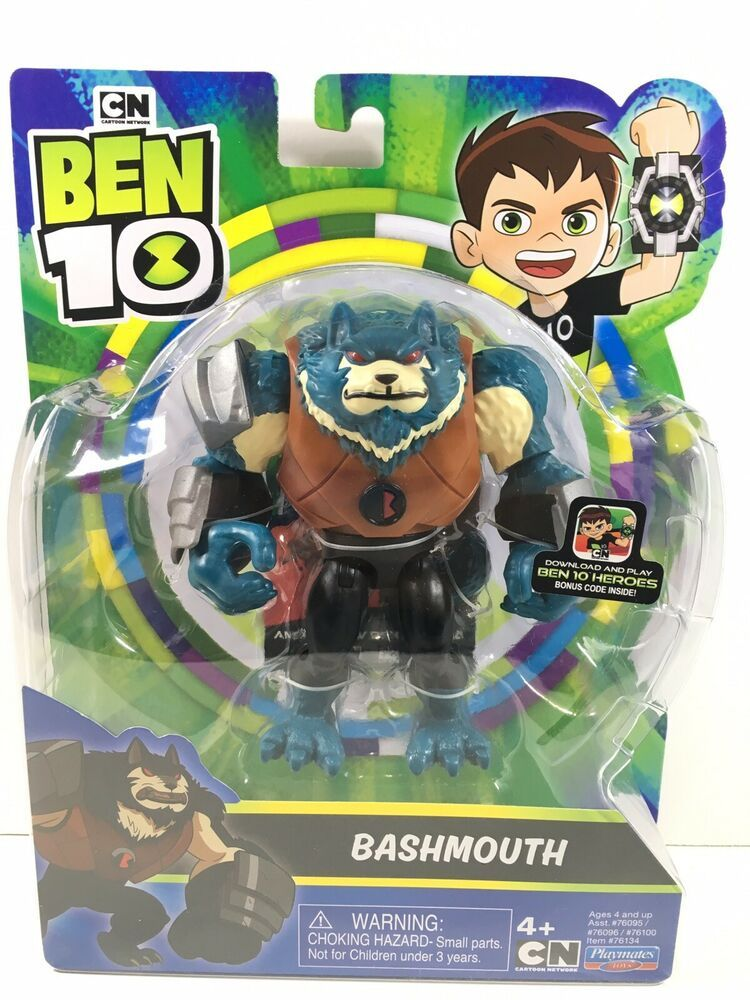 Details About Bashmouth 4 5 Ben 10 Action Figure Hero Code
