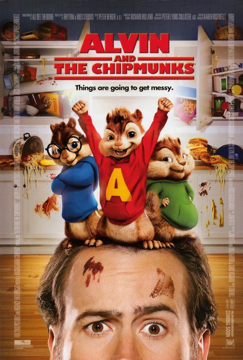 Alvin And The Chipmunks Movie With Images Chipmunks Movie