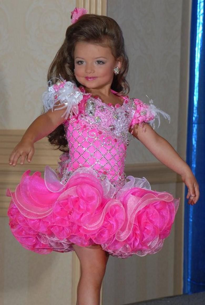 Formal Dresses For Kids Real Picture Girls Pageant Dresses Pink And