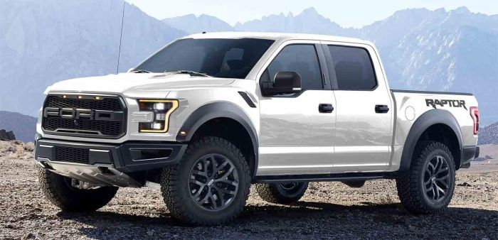 White Ford Raptor  4x4  Pinterest  16th birthday My father and