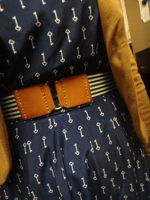 @Old Navy navy key dress, #targetstyle blazer & belt