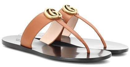 6d5cdc580b7 Gucci Leather sandals  gucci  ShopStyle  MyShopStyle click link for more  information