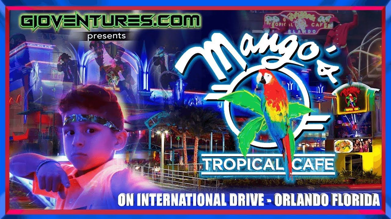 Mango S Tropical Cafe Dinner Show On International Drive Orlando