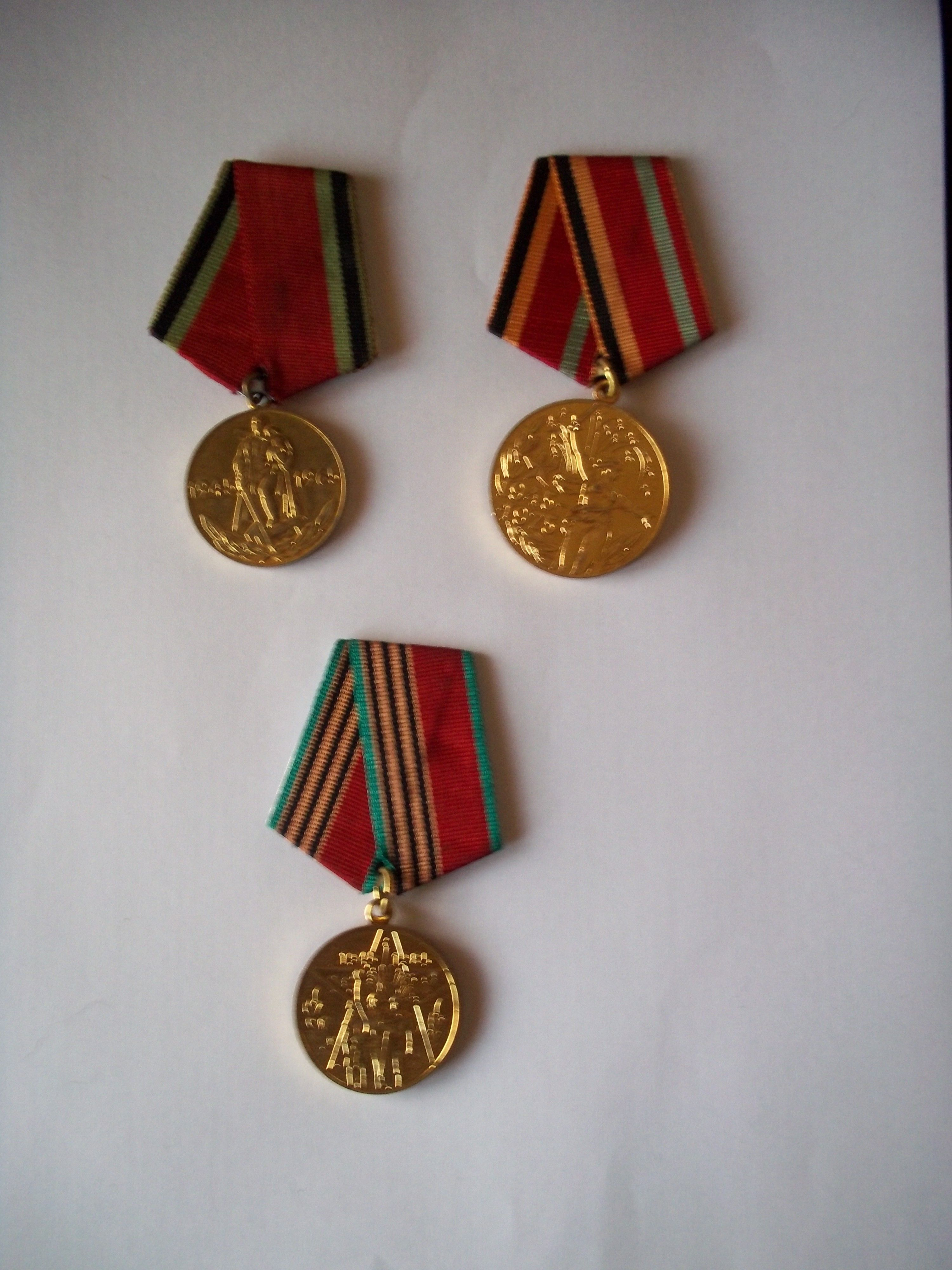 """Jubilee Medals of Victory in the Great Patriotic War 1941–1945"""""""