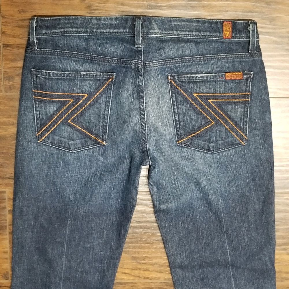 ebcbcf87eb6 7 For All Mankind Ladies Flynt Denim Jeans Bootcut 32 Seven jeans   7ForAllMankind