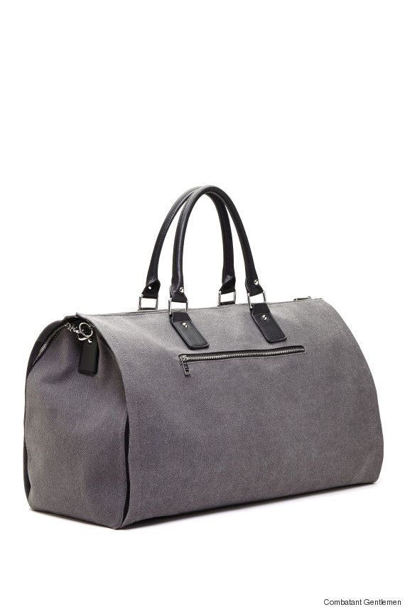 84202d29d2 This weekender garment bag makes traveling with a suit so much easier