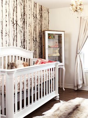 Nursery decor Forestthemed baby's room (+ contest