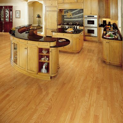 Ridgecrest Caramel Oak Engineered Hardwood Flooring Mullican