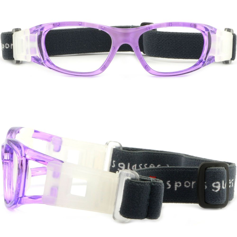 2f500597c3a Kids Prescription RX Sports Protection Goggles Wrap Around Glasses Elastic  Strap  Unbranded
