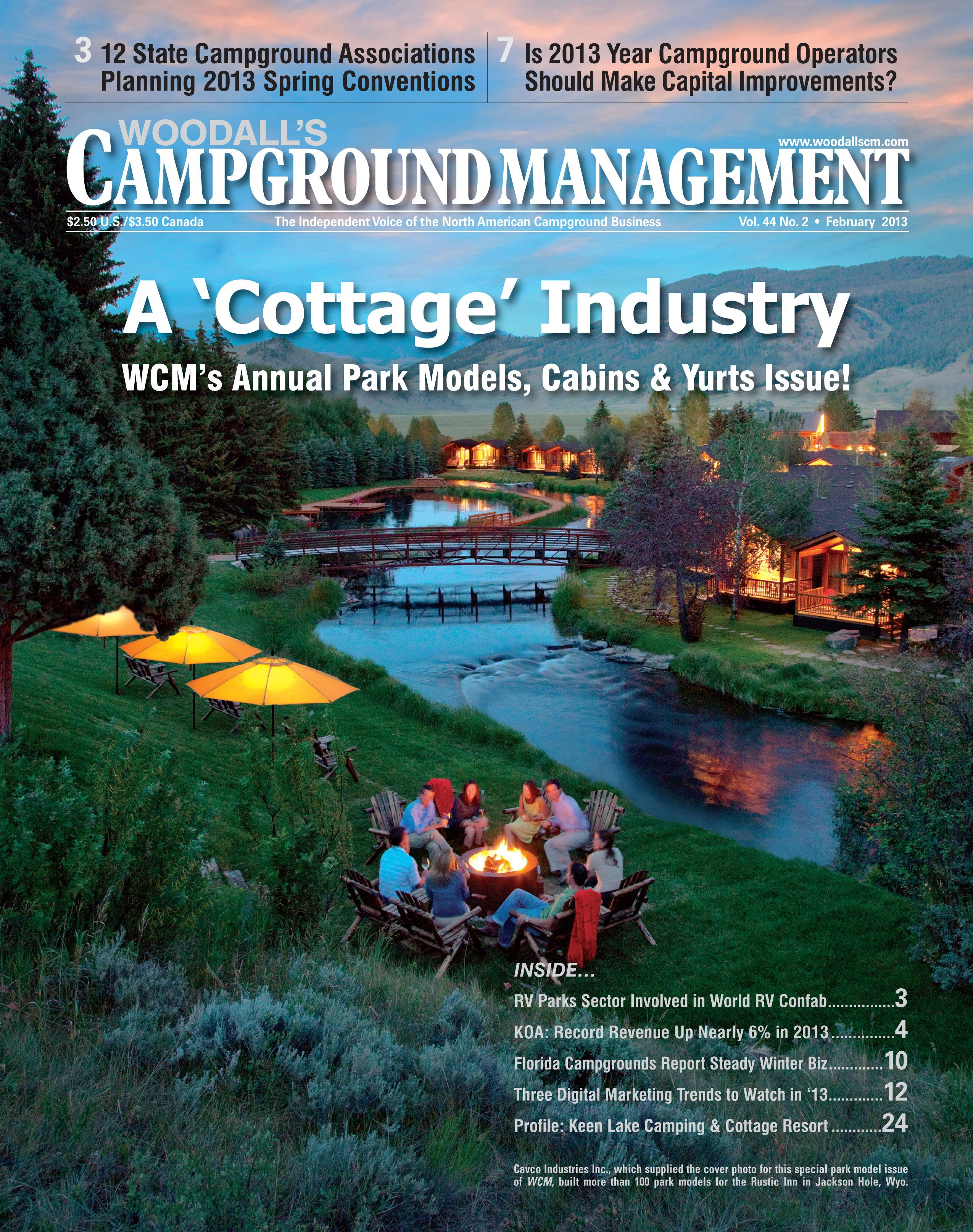Cavco Cabins Are On The Cover Of Woodalls Jackson Hole Vacation Jackson Hole Hotels Rustic Inn