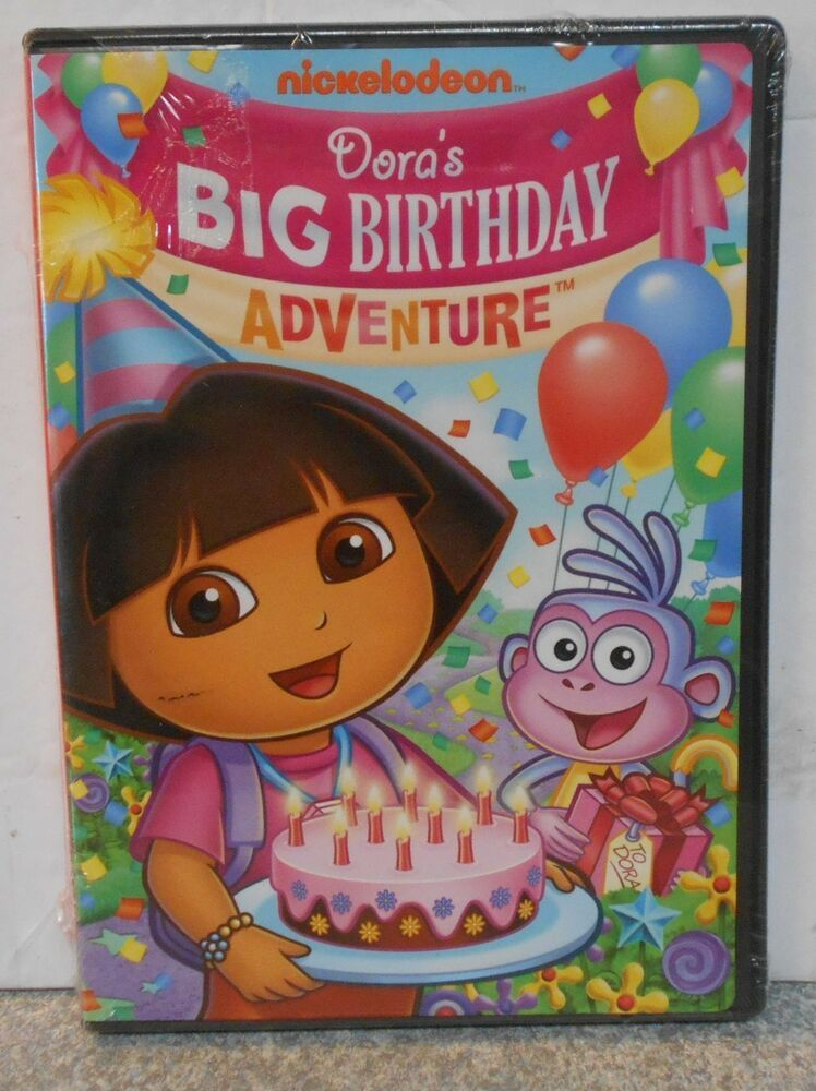 Dora the Explorer: Doras Big Birthday Adventure (DVD 2010) BRAND NEW