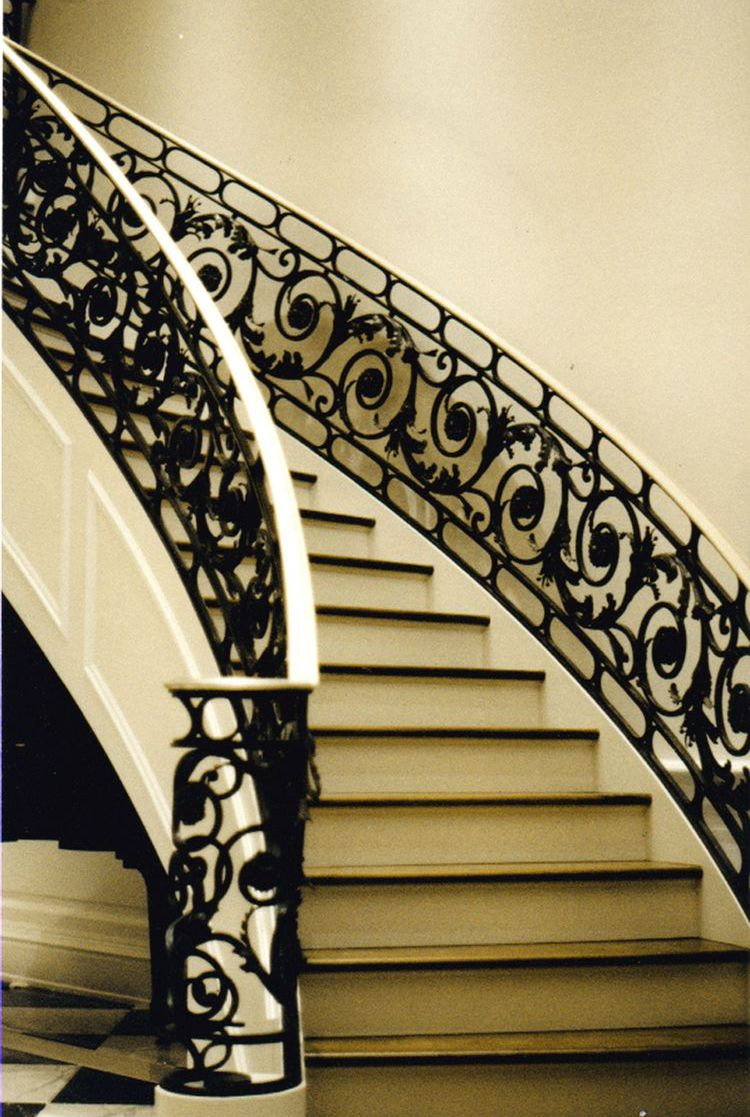 Pin By Architects On Grill Design Iron Staircase Railing
