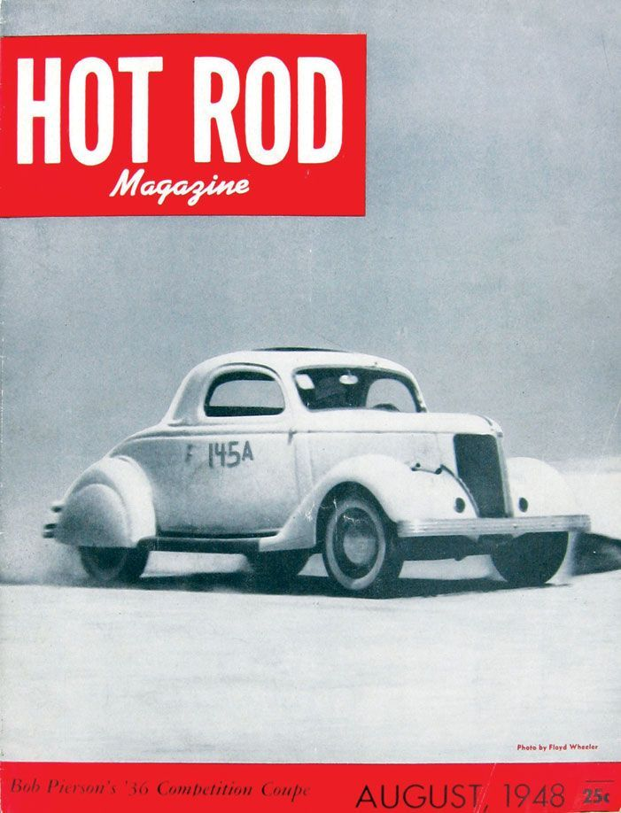 HOT ROD, August 1948. This is the first custom car to appear on the ...