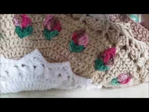 Tapete Moranguinho Parte 0202 Youtube Tricô Croche Pinterest