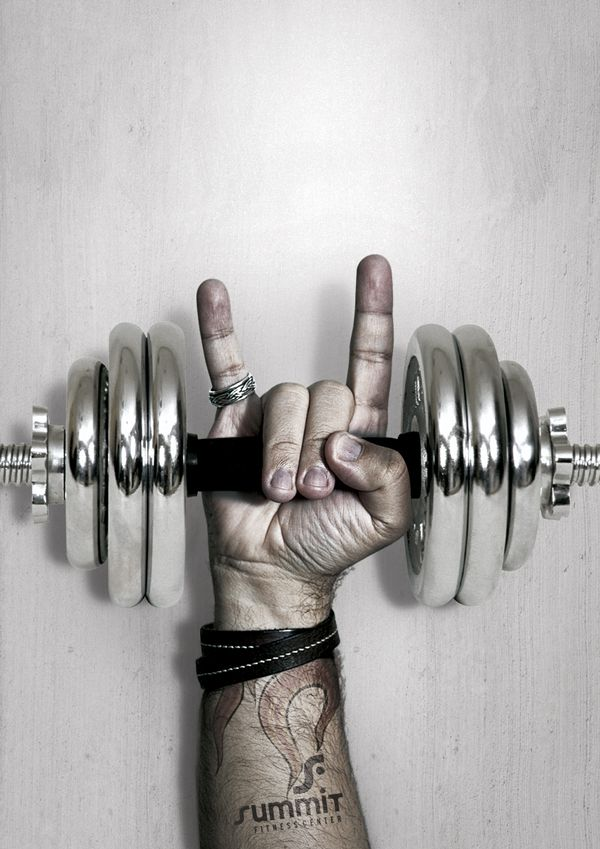 You Rock Summit Fitness Center By Giu Vicente Via Behance Fitness Center You Rock Fitness