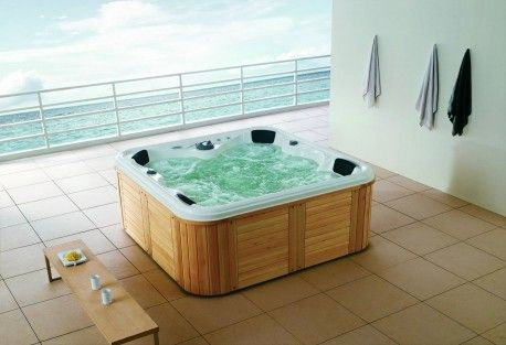 Spa-jacuzzi-exterior-AS-001 Terraza Pinterest Jacuzzi and Spa