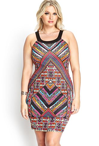 Plus Size Summer Dresses 20 Sexy Outfits Youll Love Tribal Print