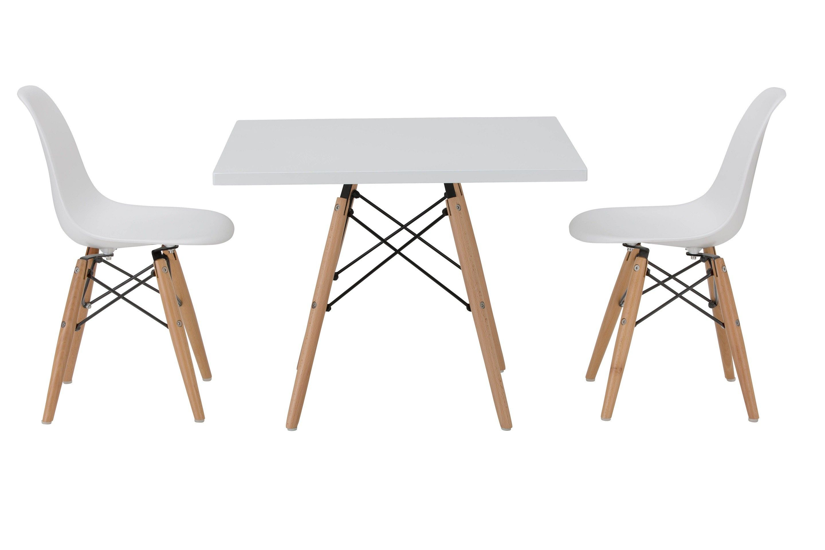 Replica Square Eames Kids Table And Chairs Package Eames Table