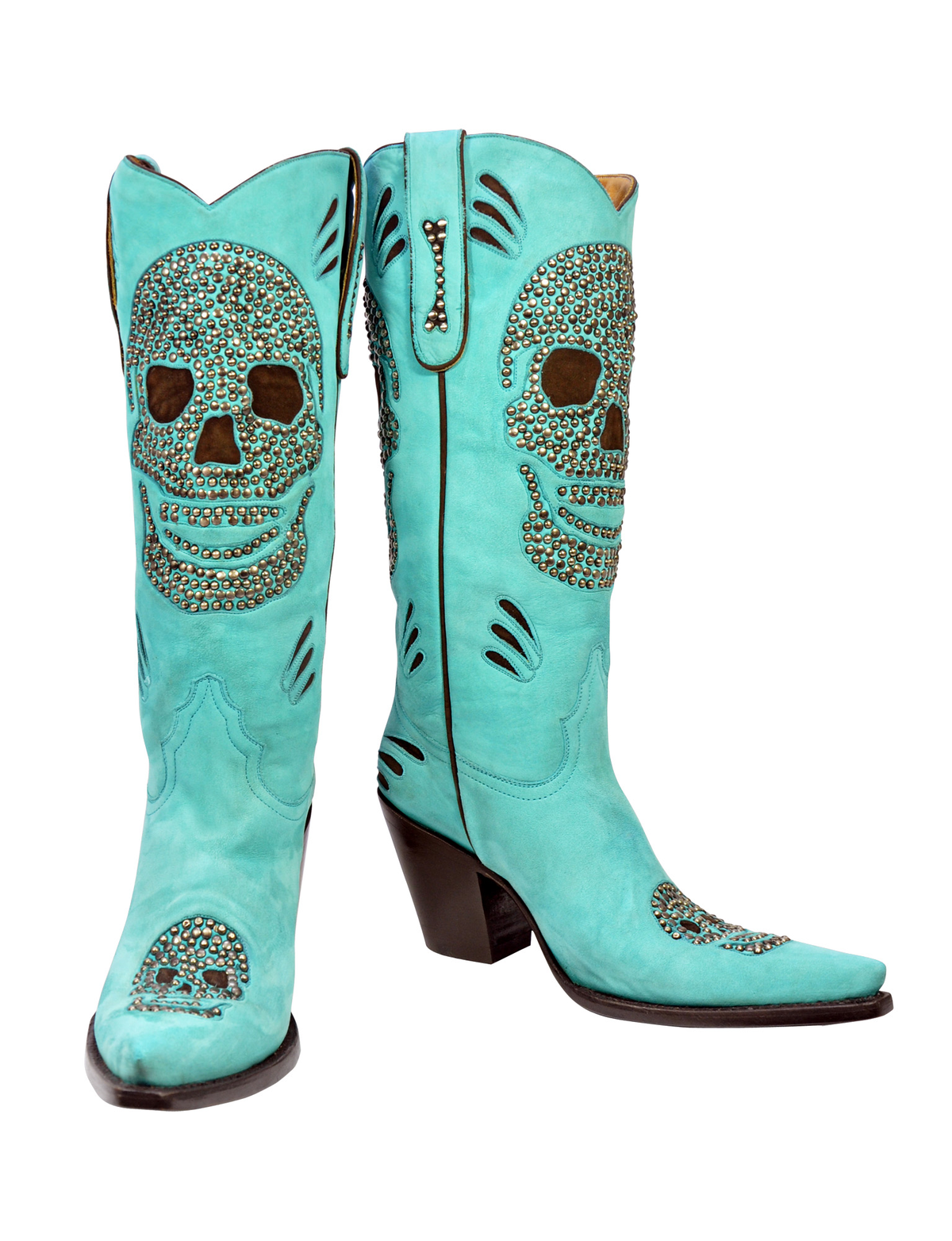 Studs Skull - Handmade Cowboy Boots from Liberty Boot Co ...