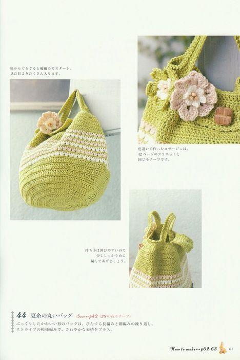 Ideas para el hogar: Patrones de bolsos tejidos | Crochet en 2018 ...