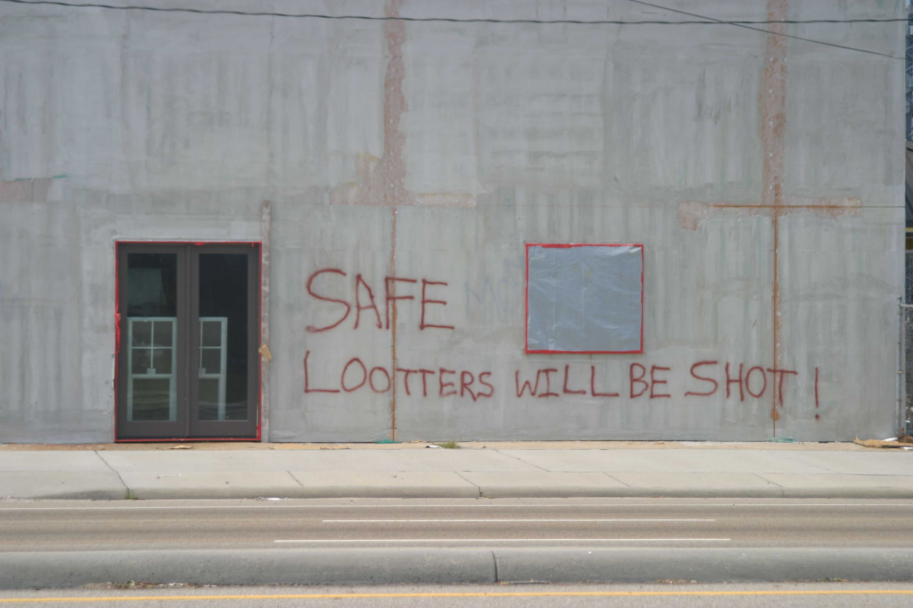 Graffiti In Downtown Gulfport Hurricane Katrina Mississippi Gulfport Hurricane Katrina