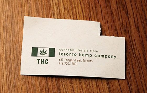Toronto hemp company business card business cards pinterest toronto hemp company business card reheart Image collections