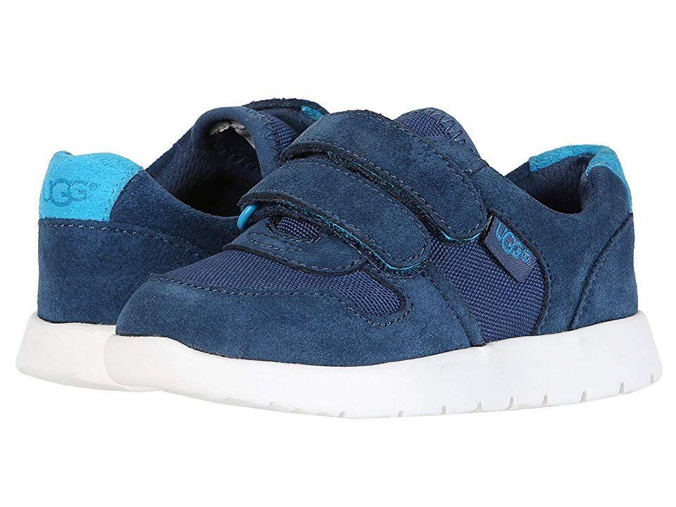 18df49b96bd UGG Kids Tygo Strap Sneaker (Toddler/Little Kid/Big Kid) Boy's Shoes ...