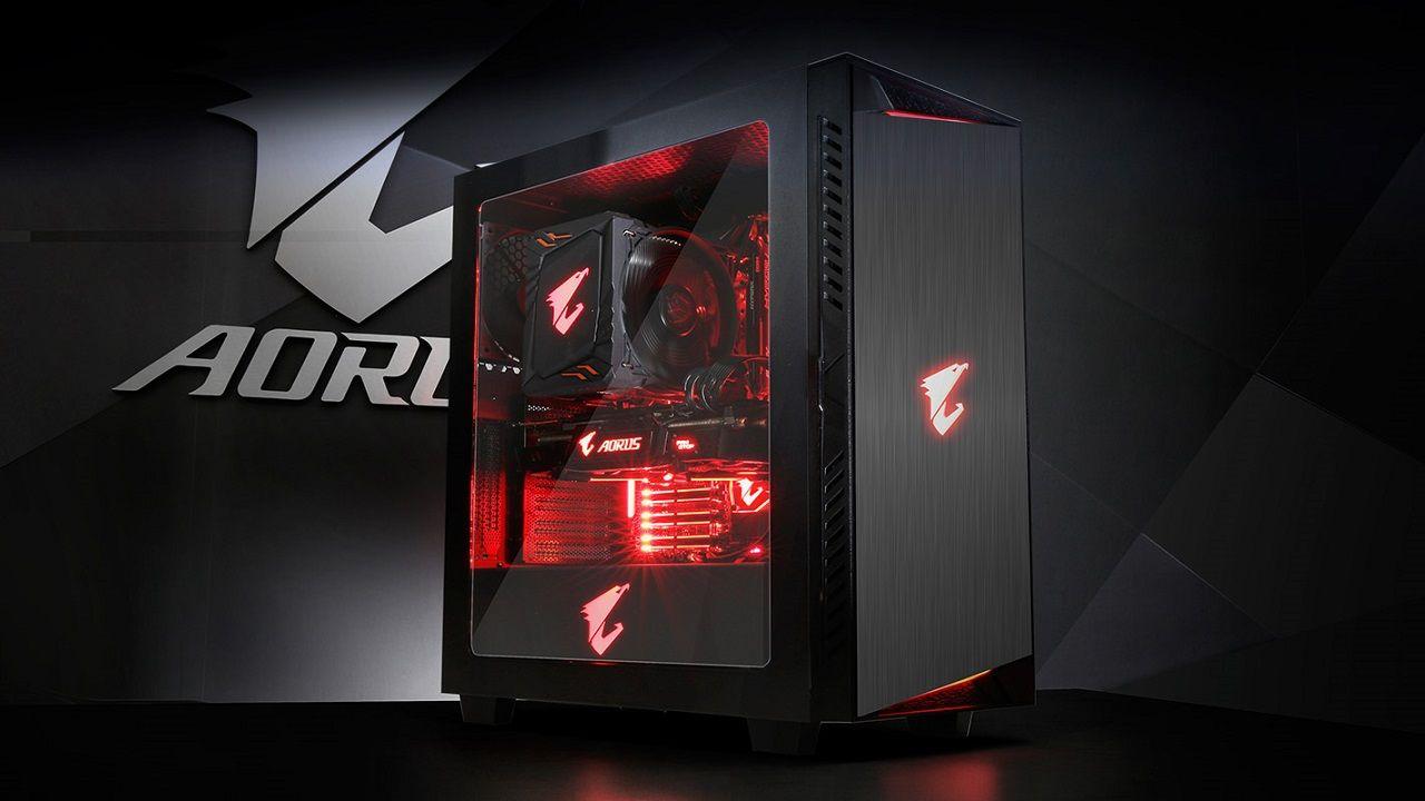 Gigabyte Ac300w Chasis Retro Iluminado Para Tu Pc Gamer Pc
