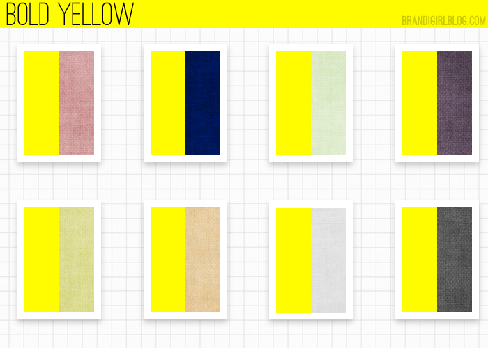 What Color Goes Good With Yellow My Web Value
