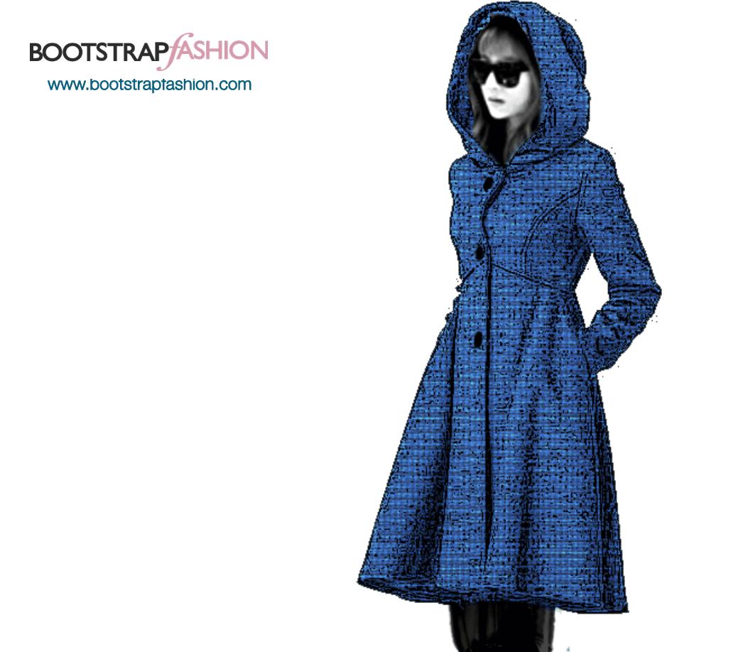 Bootstrapfashion.com - Custom-Fit PDF Sewing Pattern Of the Coat ...