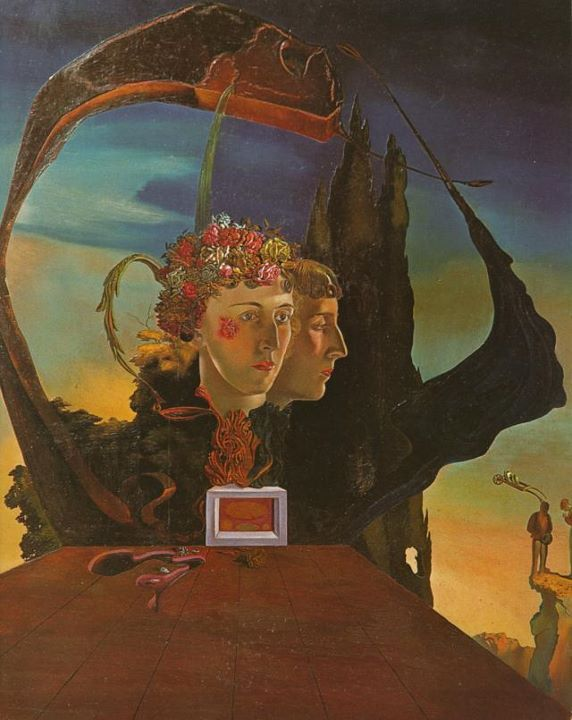 Salvador Dali 1932 Portrait Of Vicomtesse Marie Laure De Noailles Her Great Grandfather Was The Ma Salvador Dali Salvador Dali Paintings Dali Art