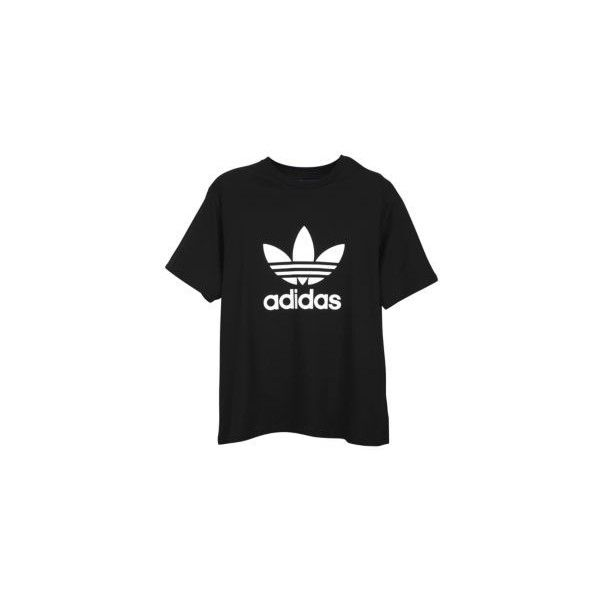 e32fb6122 adidas Originals Trefoil S/S Logo T-Shirt Men's ($25) ❤ liked on Polyvore  featuring men's fashion, men's clothing, men's shirts, men's t-shirts,  tops, ...