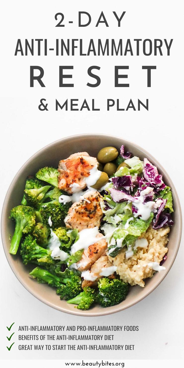 Anti Inflammatory Meal Plan Weekend Edition Beauty Bites Anti Inflammatory Diet Recipes Anti Inflammatory Diet Meal Plan Diet Meal Plans