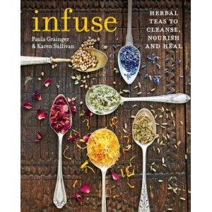 Infuse is packed full of #recipes for delicious #herbal #teas that have been expertly formulated to prevent and treat dozens of common physical and emotional #health conditions. #Therapeutic herbal teas and #infusions are quick and easy to make. So, if you are feeling run down or having trouble sleeping you will find the tea to #remedy.