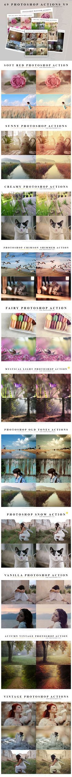 Best free Photoshop Actions for photographers.