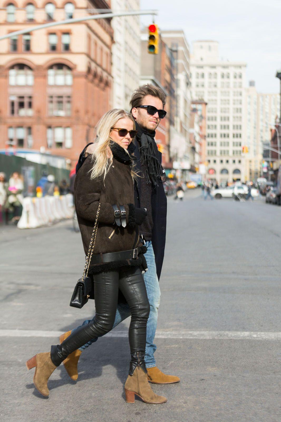 Stylish Couples - Street Style NYC 2014