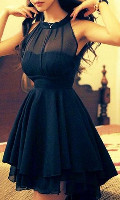 Mesh Front Cute Slim Dress For Wome.. - Total Street Style Looks And Fashion Outfit Ideas