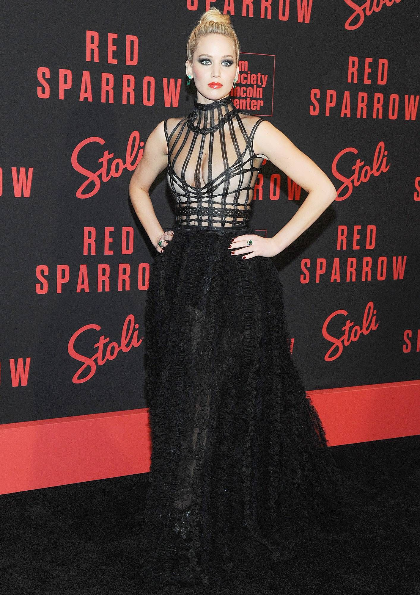Jennifer Lawrence Says She Got Drunk Before Red Sparrow ...