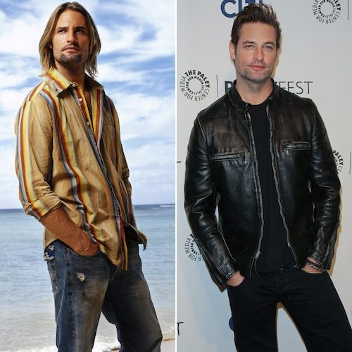 """Josh Holloway """"James 'Sawyer' Ford"""" Ages: 34 and 44"""