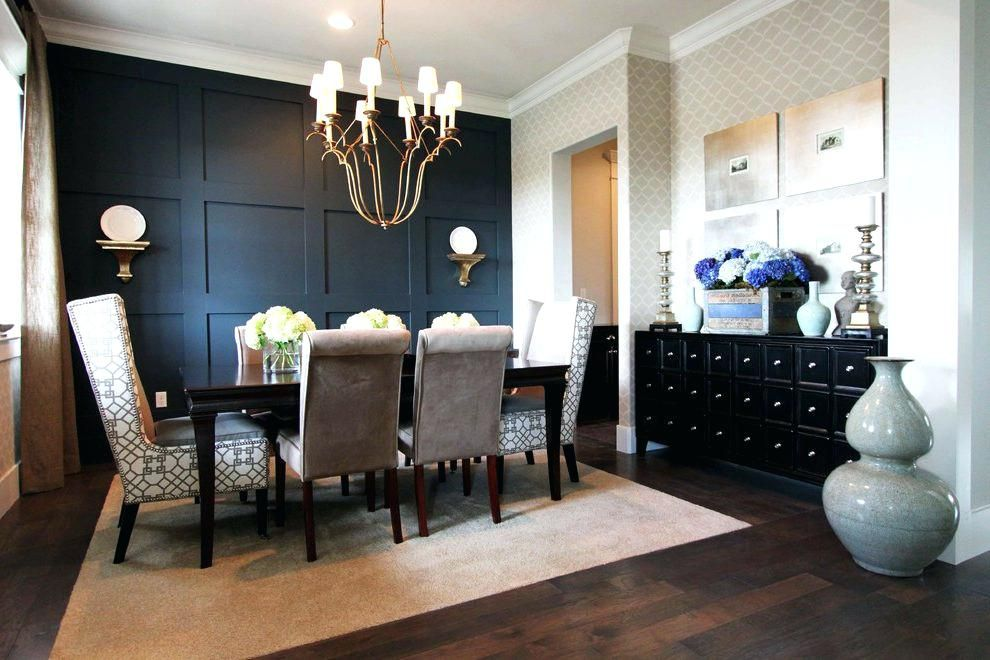 Dark Accent Wall Wonderful Black Dining Room Table Set Accent Wall Ideas For Dining Room Cont Accent Walls In Living Room Dining Room Accents Dark Accent Walls