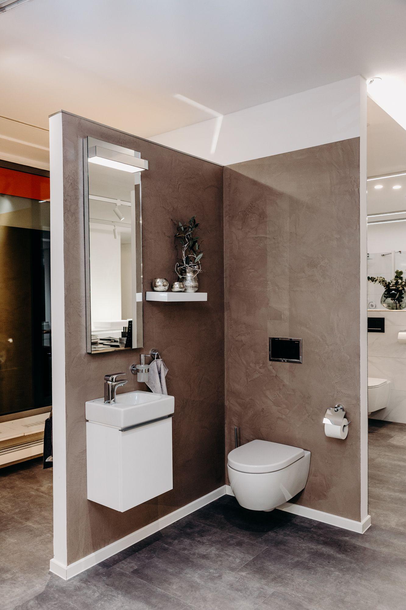 Spachteltechnik Im Badezimmer In 2020 Badezimmer Badezimmerideen Kleine Badezimmer