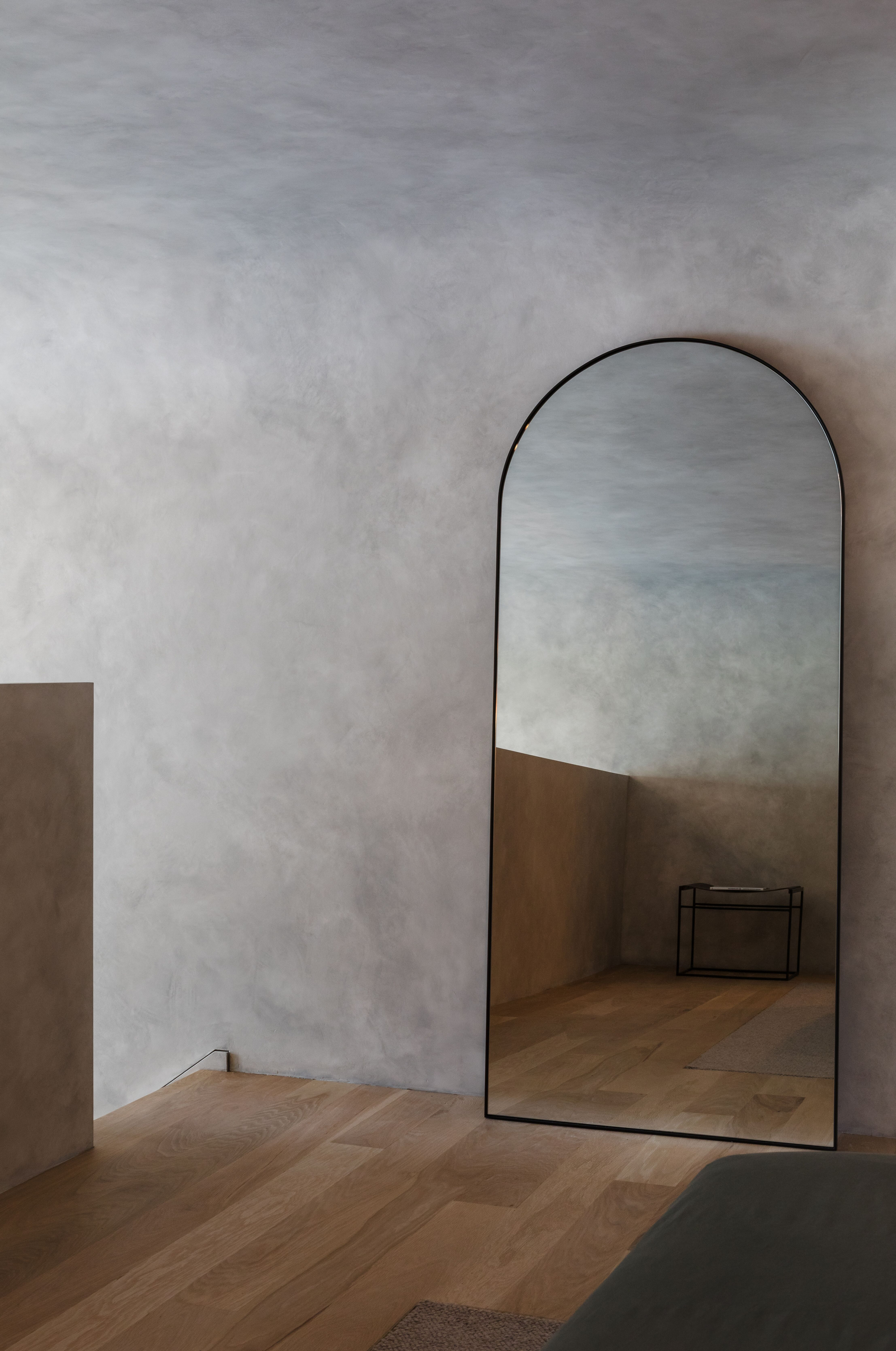 A Concrete Bunker Perfect Storm Apartment Renovation About Design World Residential Interior Design Concrete Interiors Glazed Walls