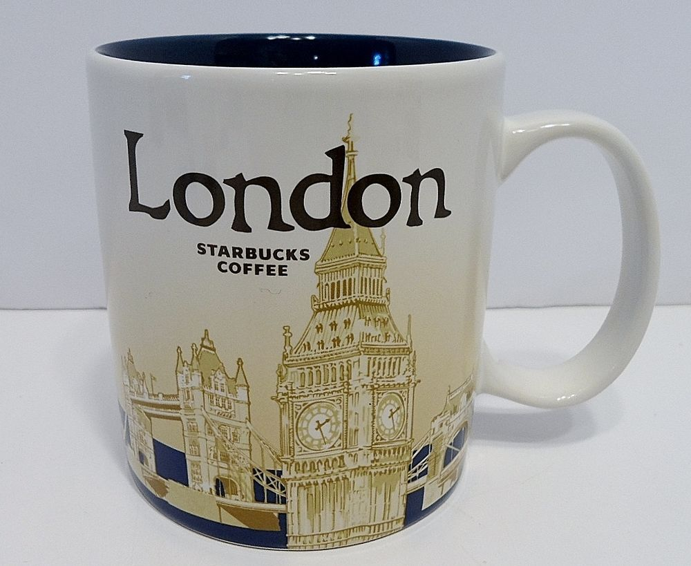 Starbucks Coffee 2014 Global Icon Collector Series LONDON