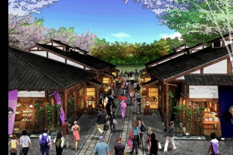 Nova área turística será construída ao redor do Castelo de Nagoia A cidade de Nagoia anunciou uma nova área turística, com reproduções de construções do Japão medieval e áreas de fast food
