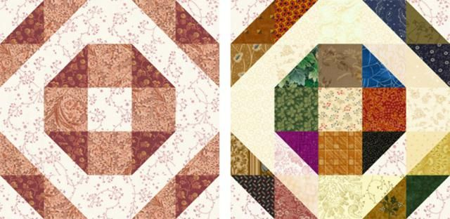 Make Beginner Friendly Grecian Square Quilt Blocks | Free quilt ...