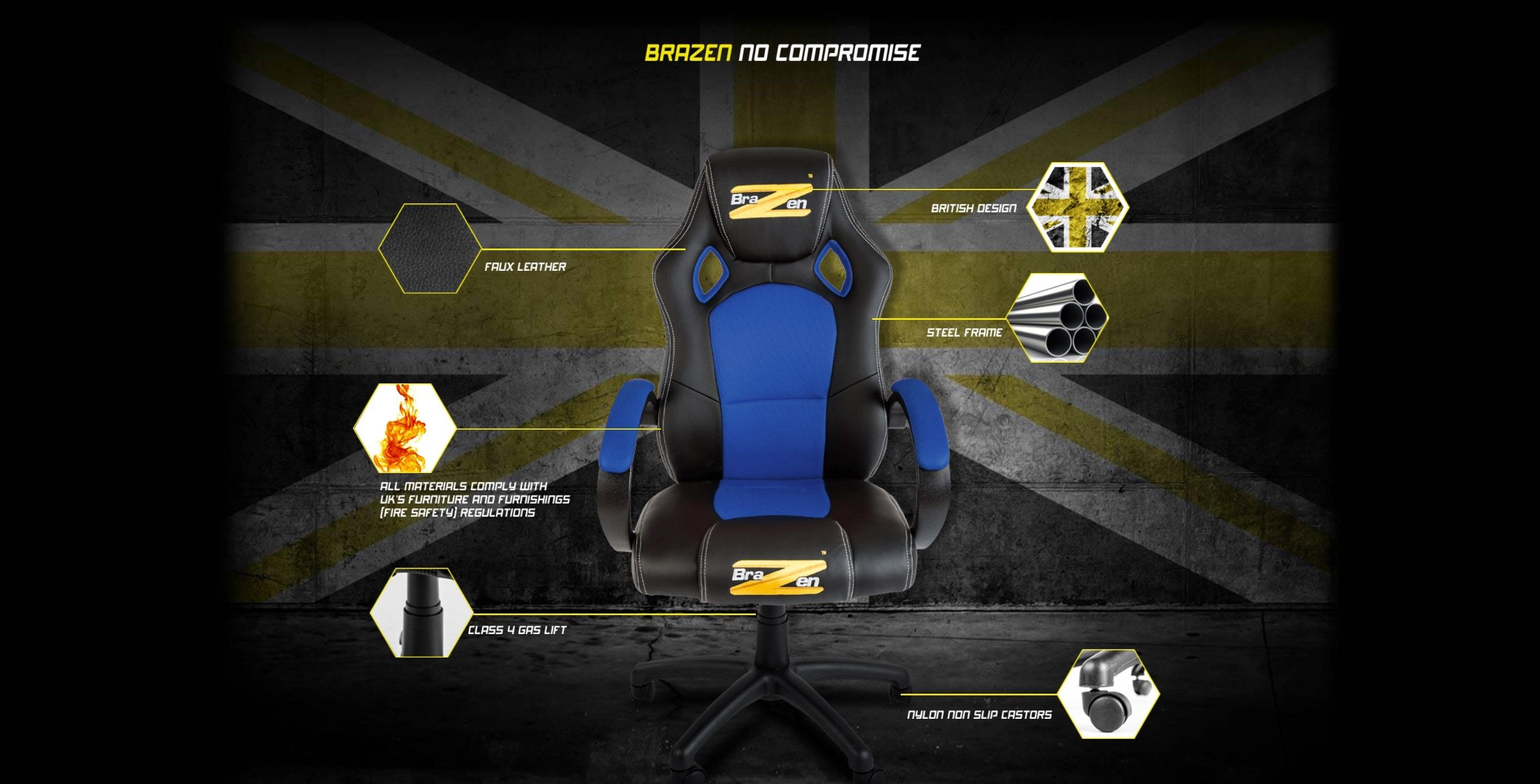 Miraculous Brazen Puma Pc Gaming Chair Review An Affordable Spiritservingveterans Wood Chair Design Ideas Spiritservingveteransorg