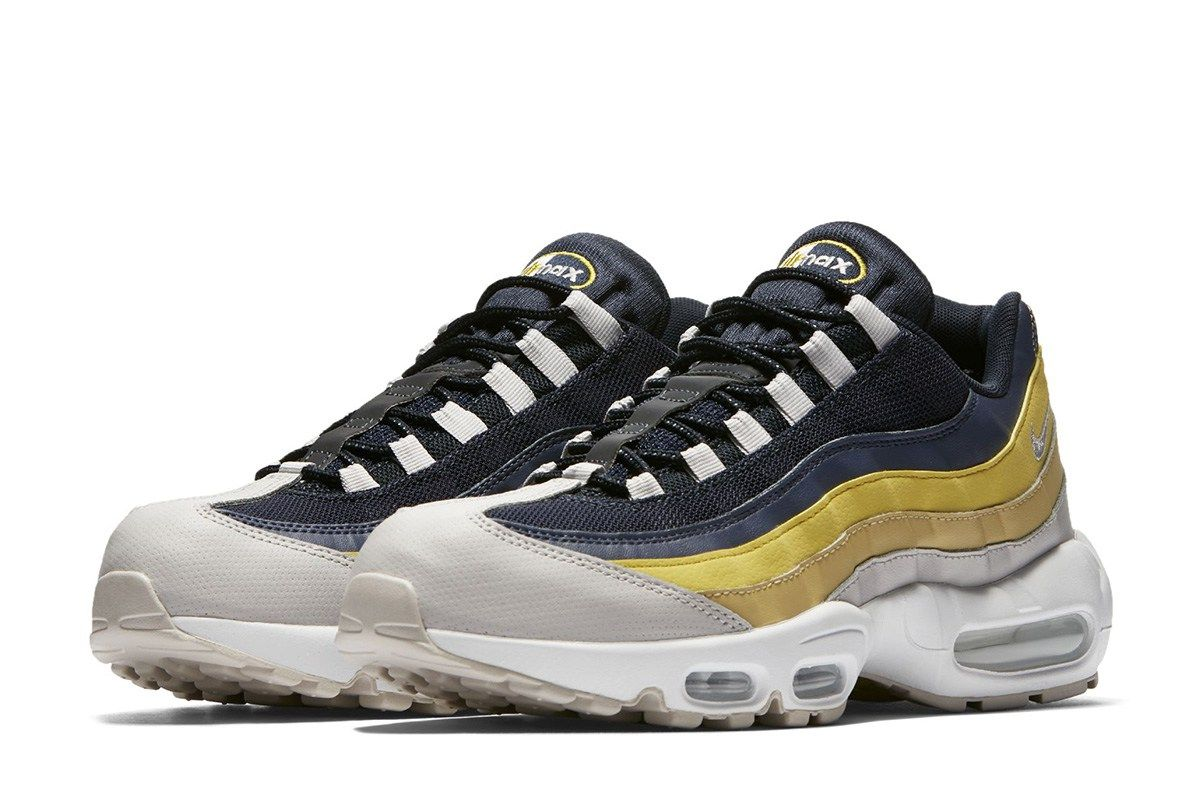 Soldes - Baskets Air Max 95 Essential Lemon Wash Homme ntTMRV