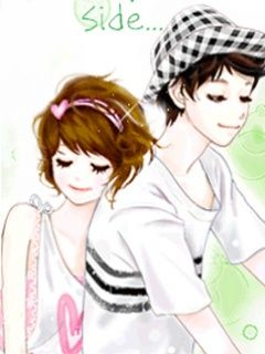 Enakei Couple Cartoon Cute Korean Couple Illustration