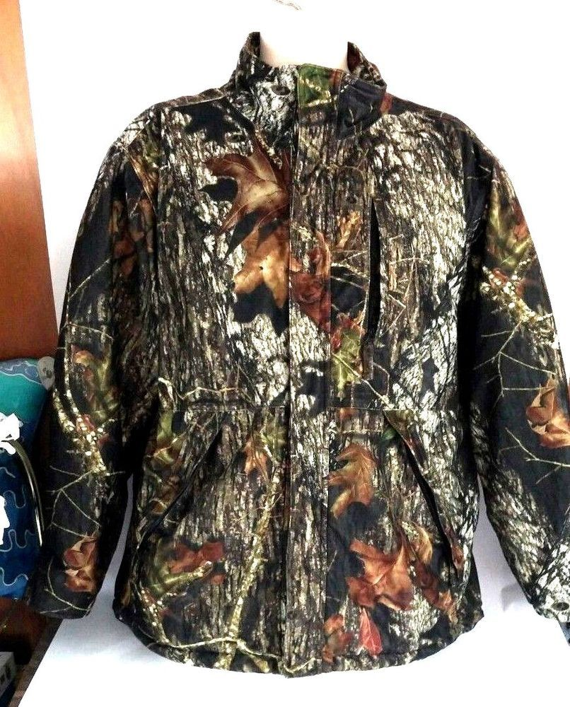 3453f3f3aecab Cabela's Jacket Coat Men's Large Mossy Oak Green Quilted Hunting Camouflage  #MossyOak #Puffer